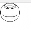 Втулка КПП, R (шарик)