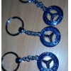 Брелок Mercedes (хромированный) синий