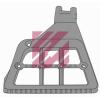 Опора ступеньки правый алюминиевая