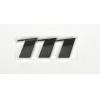 """Надпись """"111"""" MB Vito (W639) 03- (для задней двери) (хром)"""