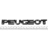 """Надпись """"Peugeot"""" Peugeot Partner 02-08 (для задней двери)"""